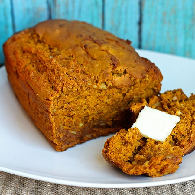 Skinny Pumpkin Banana Quick Bread | Skinny Mom | Where Moms Get The ...