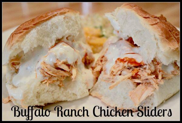 Buffalo Chicken Ranch Sliders Recipe — Dishmaps