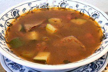 HUNGARIAN GOULASH SOUP | Veggies/Salads/Fruits/Soups | Pinterest