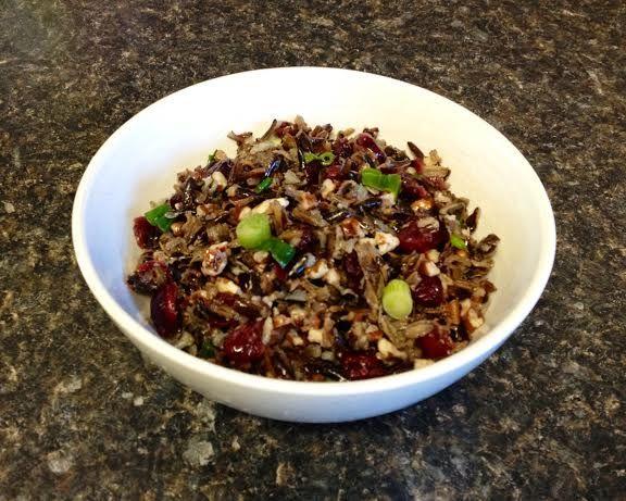 Cranberry Pecan Wild Rice Salad | Bon Appetite | Pinterest