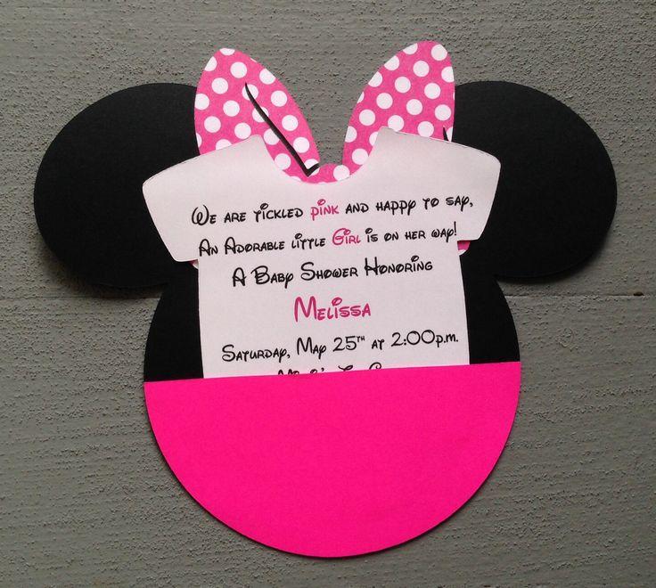Cumpleaos De Minnie Mouse Pintando Una Mam