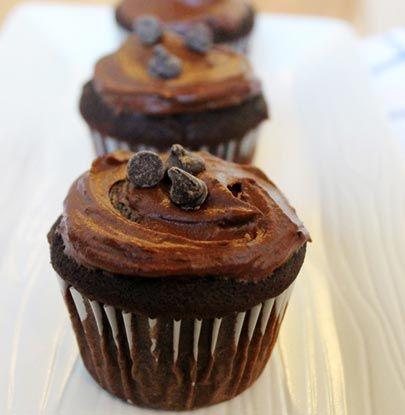 Chocolate Banana Baklava Cupcakes Recipe — Dishmaps