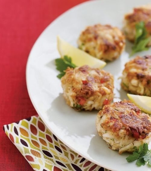 Mini Crab Cakes | Recipes for all occasions! | Pinterest