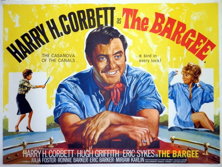 the bargee classic british comedy movie posters pinterest