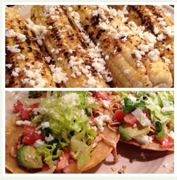 for 3-4 hours. Shred the chicken. Served it as tacos: salsa fresca ...