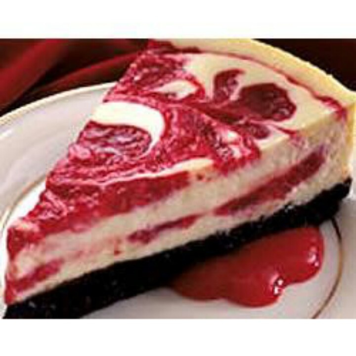 Cherry Swirl Cheesecake | Cheesecakes | Pinterest