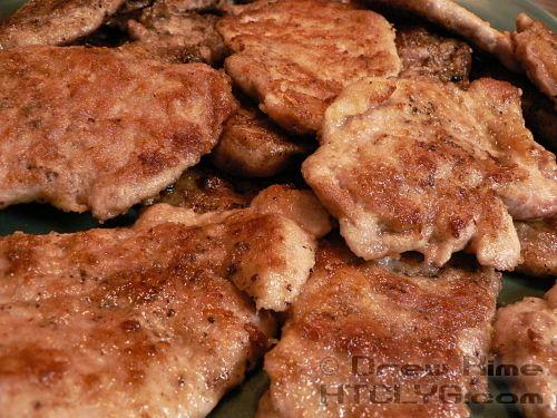 Pan Fried Pork Tenderloin Chops   Recipes   Pinterest