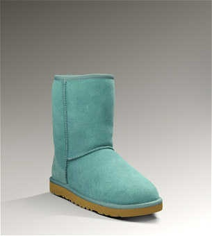 UGG classic short in turquoise :)