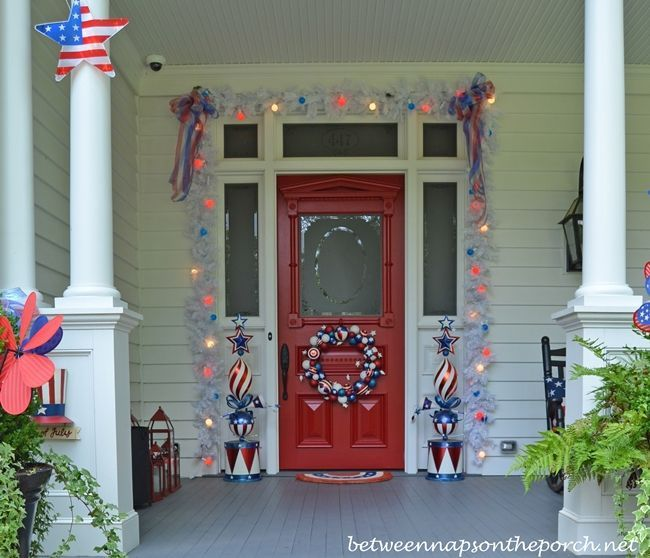 4th of july exterior decorations