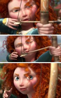 Brave...a summer movie that every curly can love.