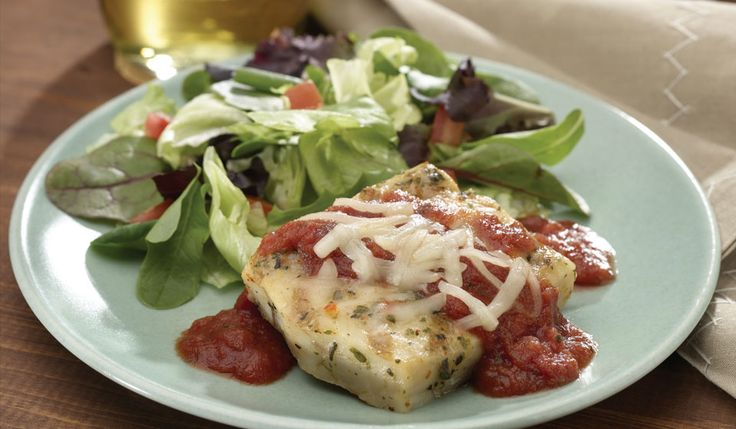 Baked Fish Fillets Italiano | Seafood | Pinterest