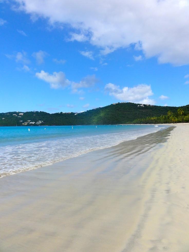 Megans Bay St Thomas Island Paradise Pinterest