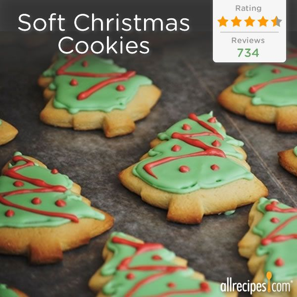 """... Like"""" if you're ready to get baking! (Soft Christmas Cookies"""