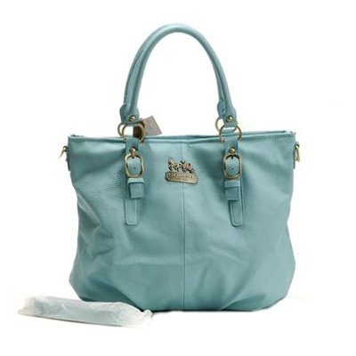 buy cheap Light blue Coach bag..Really like this one