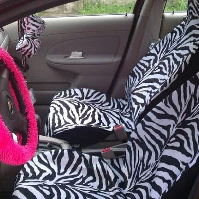 Images Of Zebra Print Car Seat Covers