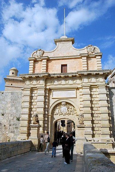 Mdina entrance, Malta