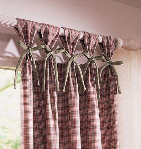 Ribbon tabs cosas lindas para hacer cuando llueve for Cortinas originales