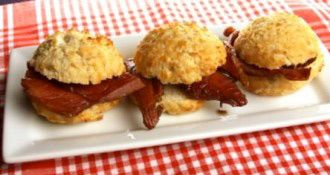 House-Autry Recipe for Country Ham Biscuits with Red Eye Gravy