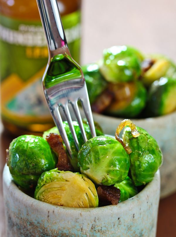 ... Brussels Sprouts with Bacon and Beer might hit the spot. They look