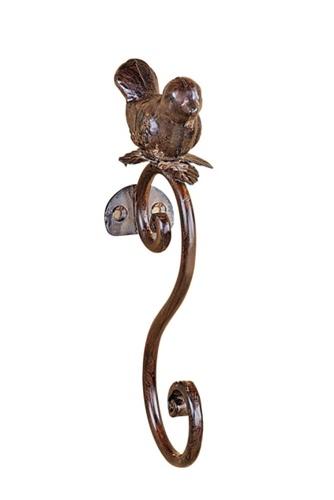 Aged Bronze Metal Bird Wall Hook | Home Decor | Pinterest