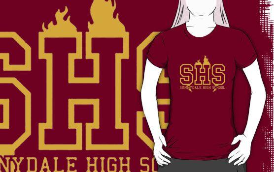 Sunnydale High School t shirt