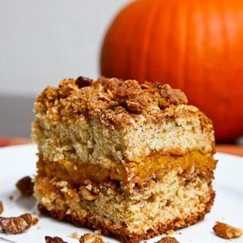 Sour Cream Pumpkin Coffee Cake | recipes | Pinterest