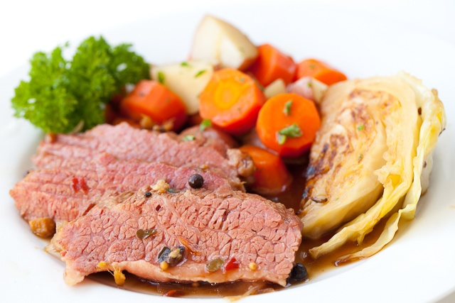 Guinness Corned Beef with Cabbage. you can just put everything in the ...