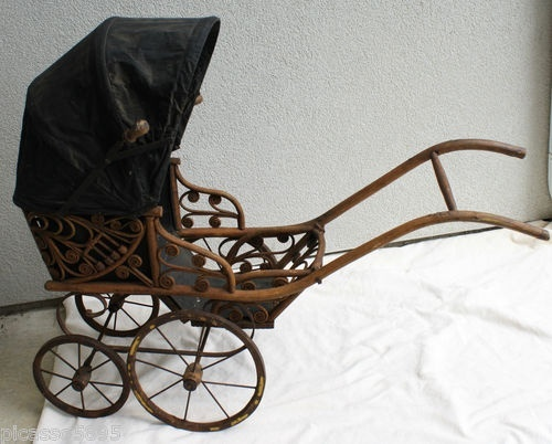 Baby Doll Stroller antique