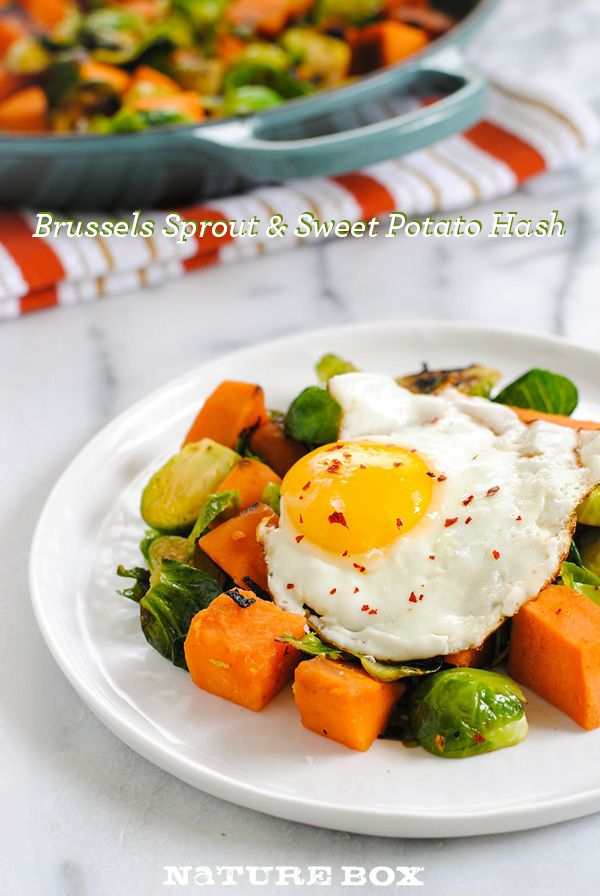 More like this: sweet potato hash , potato hash and brussels sprout .