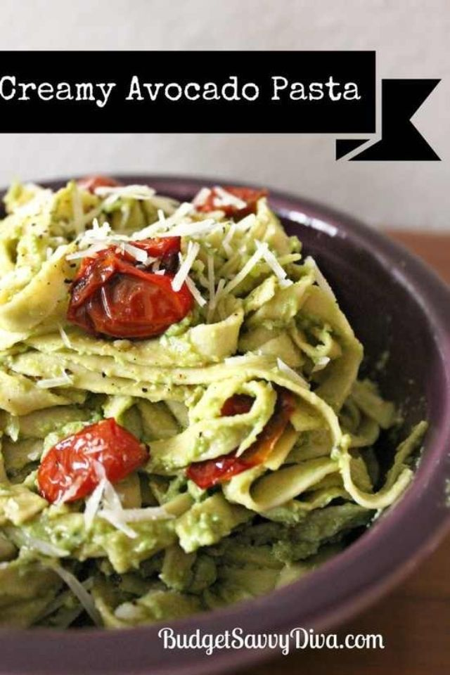 Creamy avocado pasta | How to for cooking | Pinterest