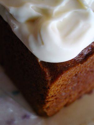 Pumpkin Spice Cake With Honey Frosting: I'm making it this weekend for ...