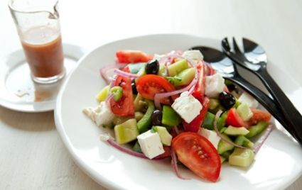 Greek Tomato Salad with Feta Cheese and Olives | Whole Foods Market ...
