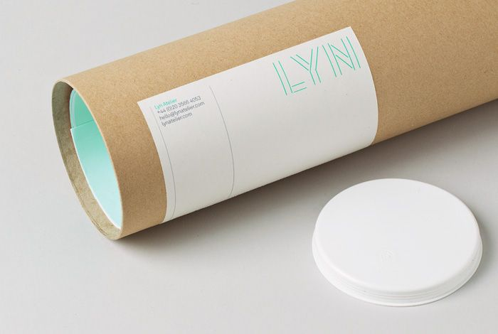 Brand identity for architecture, exhibition and theatre design practice,  Lyn Atelier.