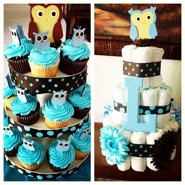 owl theme baby shower baby ideas pinterest