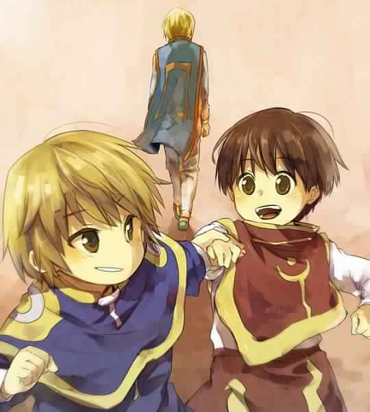Little kurapika pairo and kurapika hunter x hunter