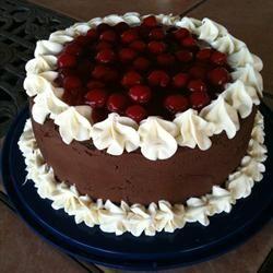 Easy Black Forest Cake ***** | Desserts | Pinterest