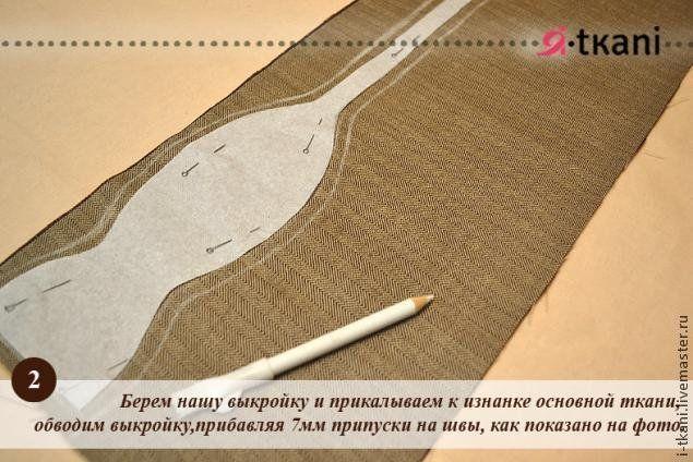 Галстук бабочка своими руками из ткани выкройки для начинающих
