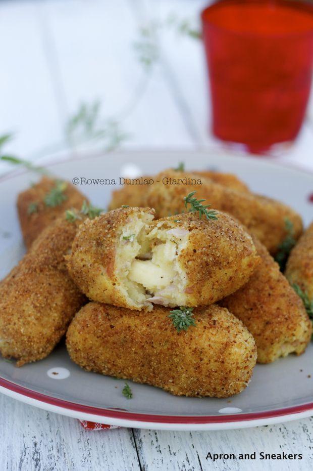 Potato Croquettes | Food - Potatoes | Pinterest