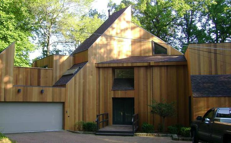 Vertical Cedar Siding