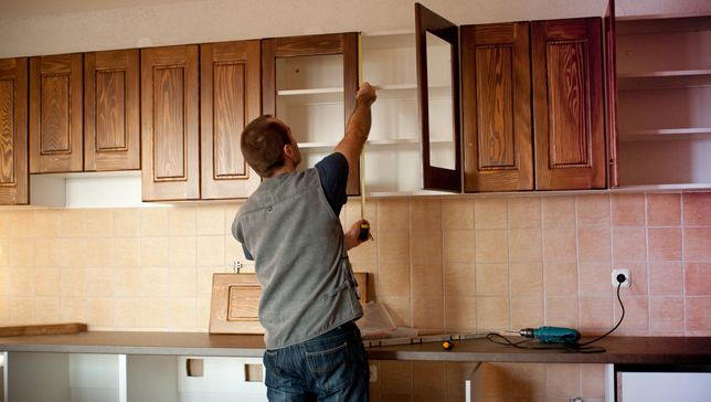 Donating or selling your old cabinets can benefit other home diyers