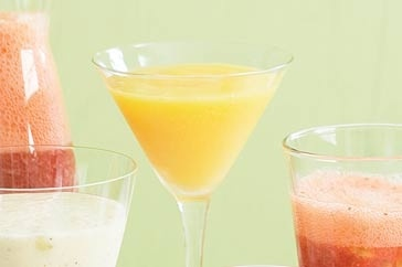 Peach mango frappe main image | Frappe's & Smoothies | Pinterest