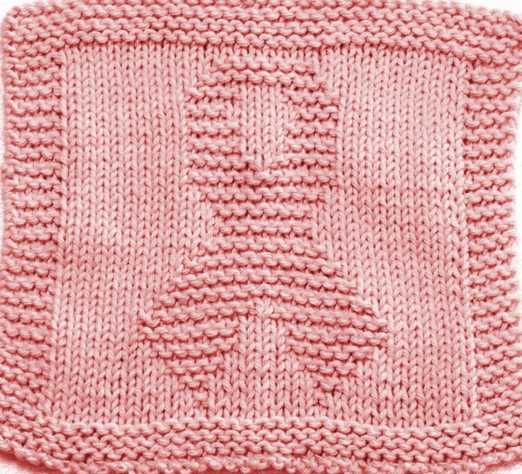 Breast Cancer Knitting Patterns : Knitting Cloth Pattern - AWARENESS RIBBON - PDF - Instant Download