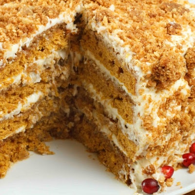 Pumpkin Crunch Cake | Recipes to try | Pinterest