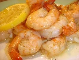Roasted Lemon Garlic Herb Shrimp Note: can also use 8x8 glass baking ...