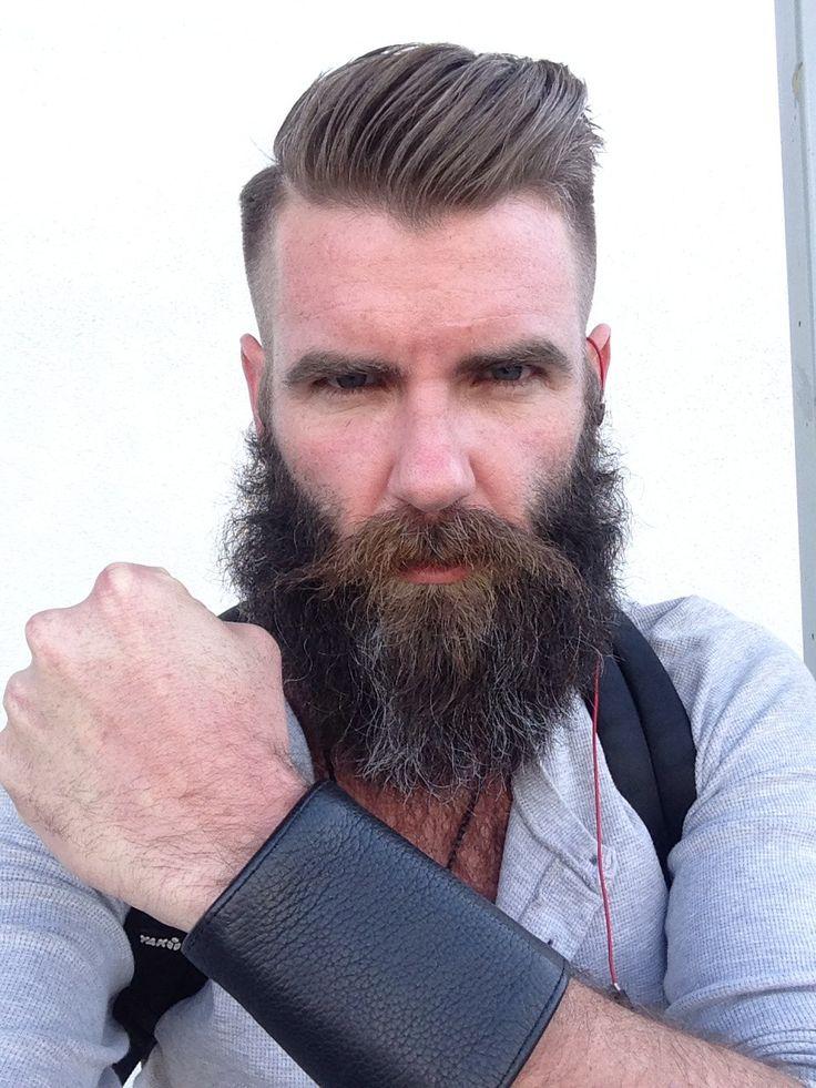Bearded men style - photo#14