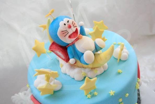 Birthday Cake Images Of Doraemon : Doraemon character cake cakes Pinterest