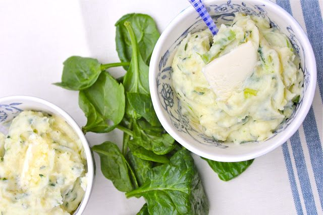 Spinach Mashed Potatoes | Tasteologie | Pinterest