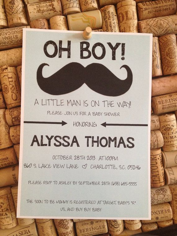 baby shower invitations mustache bridal baby shower ideas
