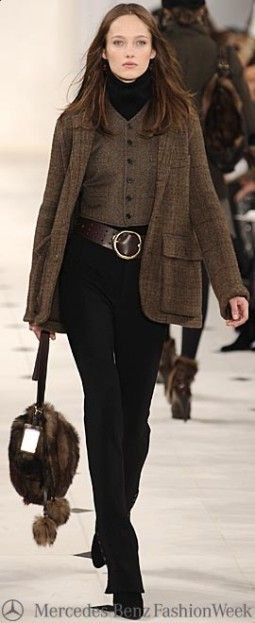 Ralph Lauren • Street 'CHIC • ✿ιиѕριяαтισи❀by Babz✿ #abbigliamento