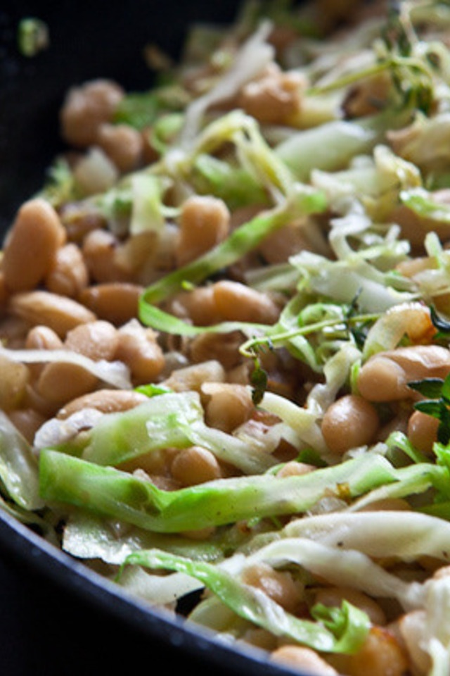 ... white beans french pork stew with white beans white beans and cabbage